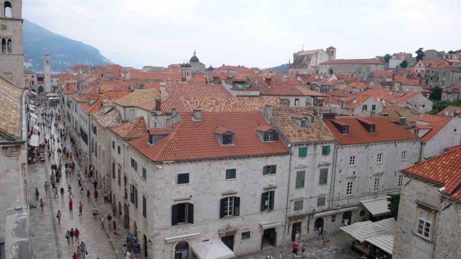 Miasta i park narodowy Chorwacji