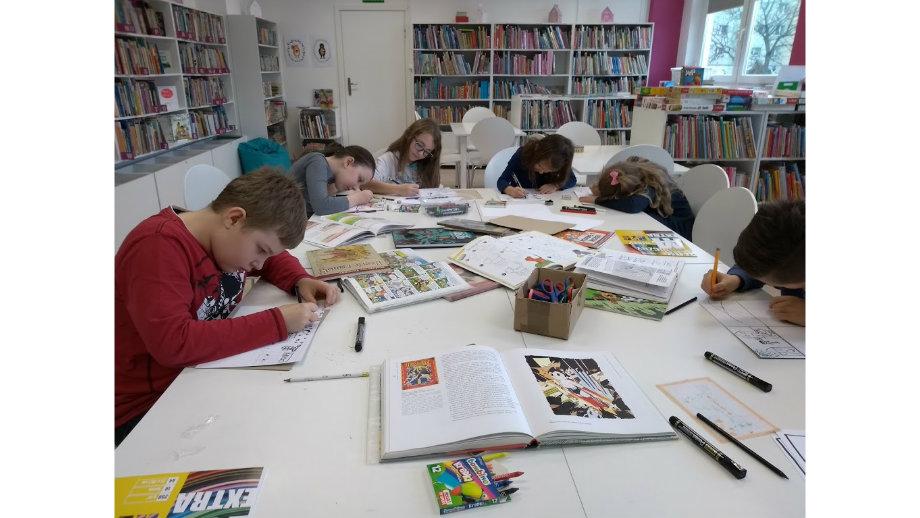 Komiksroom w Oddziale dla Dzieci