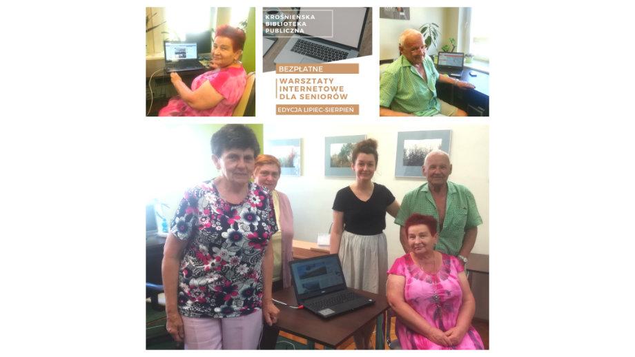 Warsztaty internetowe dla seniorów