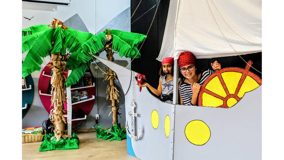 Tajemnica Wyspy Skarbów - wakacje z piratami w Oddziale dla Dzieci