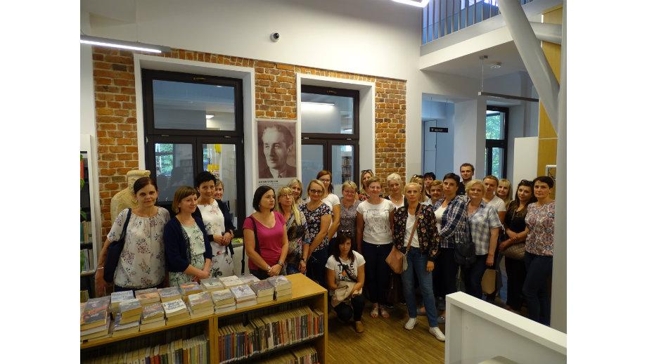 Małopolskie biblioteki w działaniu… -  wyjazd studyjny