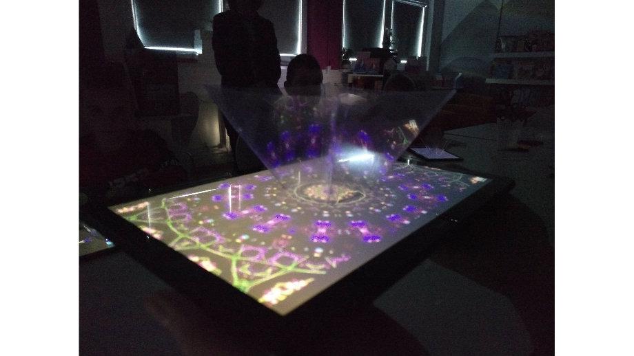 Świąteczne hologramy