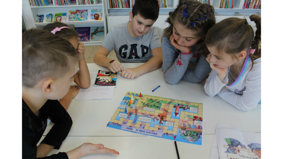 Rycerzogród - ferie z rycerzami w Oddziale dla Dzieci