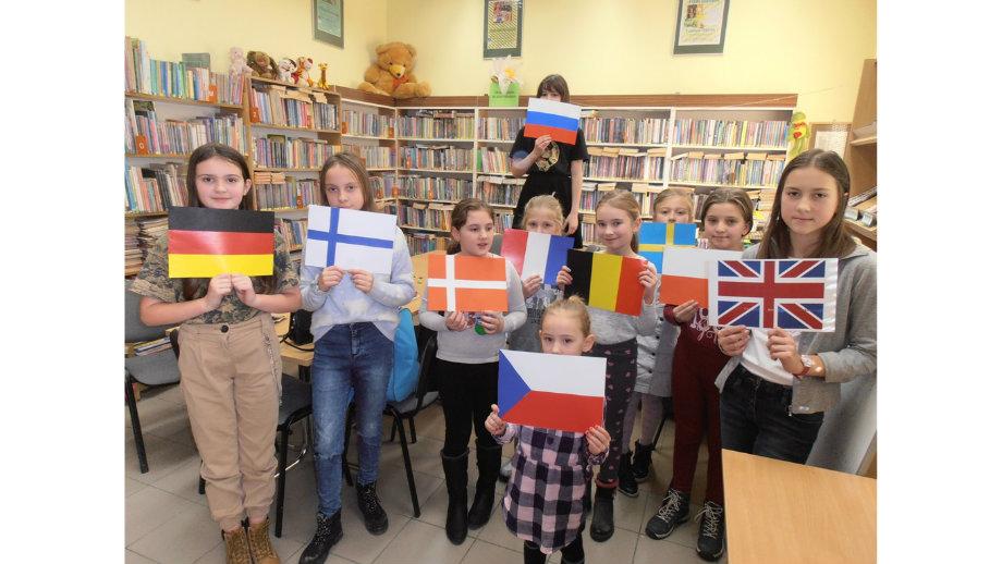 Europejski świat bajek – ferie zimowe w Filii nr 1