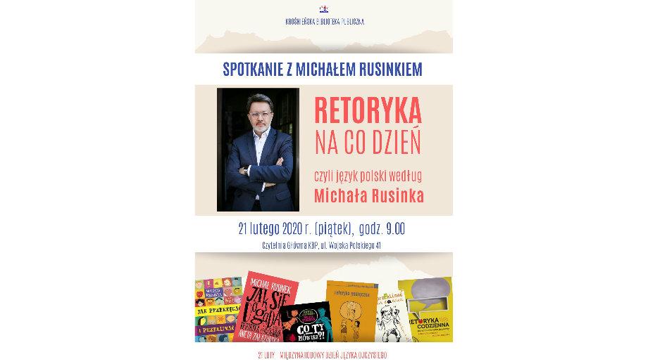 Michał Rusinek o języku polskim