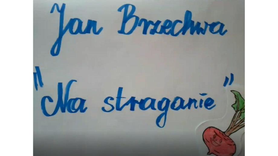 Zasmakuj w wierszach - Na straganie Jana Brzechwy