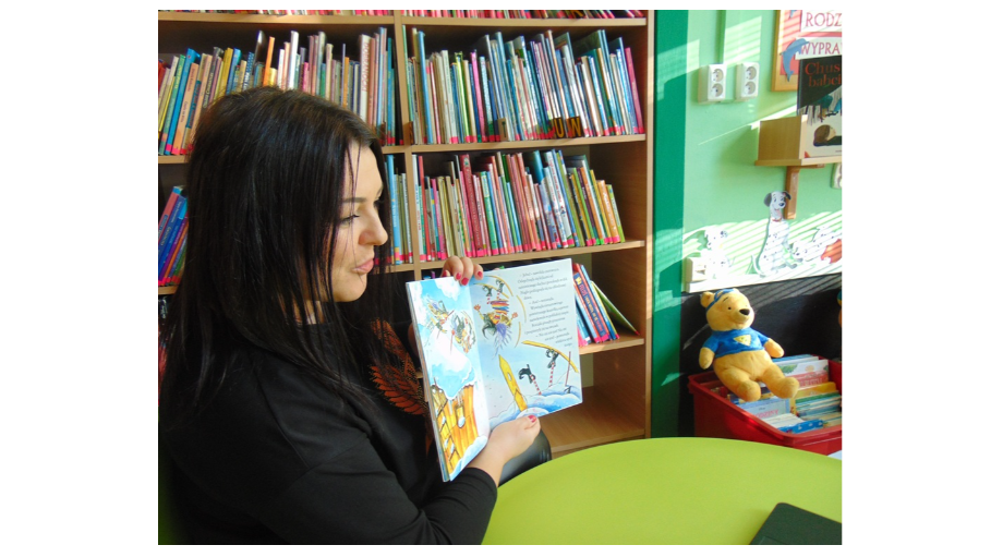 Śnieżne czary - zajęcia online dla przedszkolaków w Filii nr 4