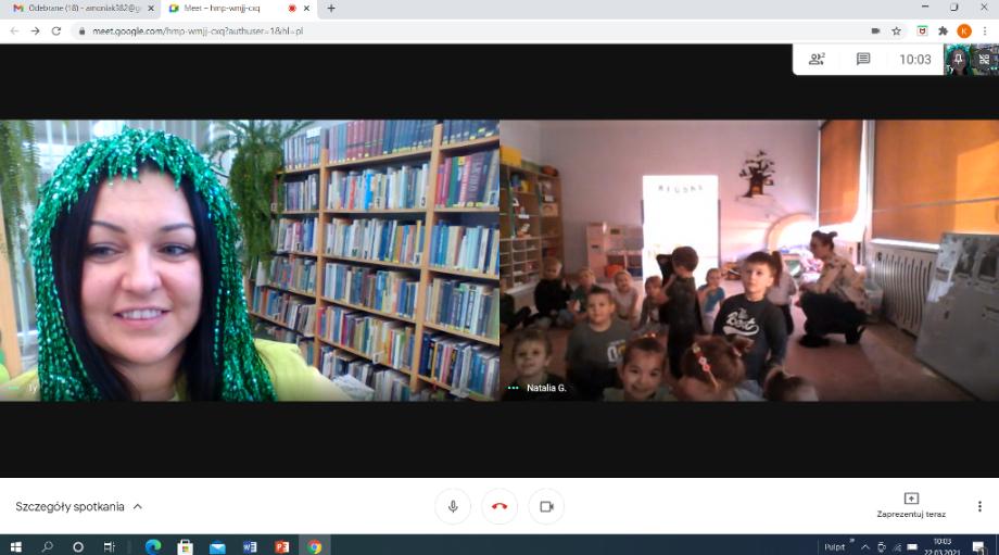 Gramy w zielone! - zajęcia online dla przedszkolaków